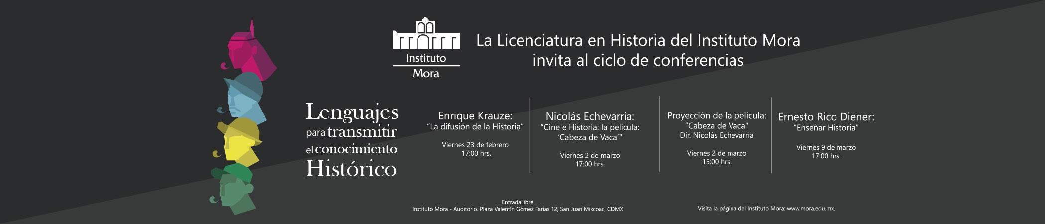 Ciclo de conferencias Lenguajes para transmitir el conocimiento Histórico