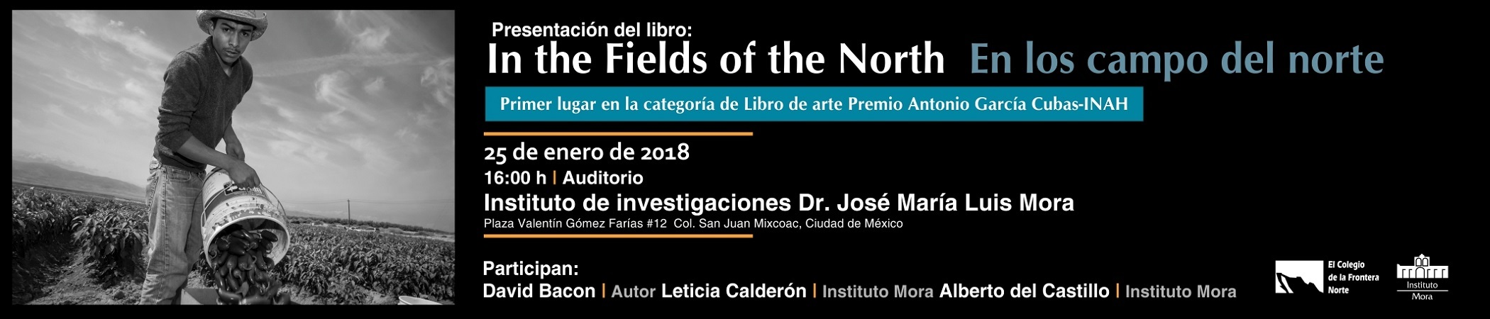 Presentación del libro In the Fields of the North / En los campos del norte