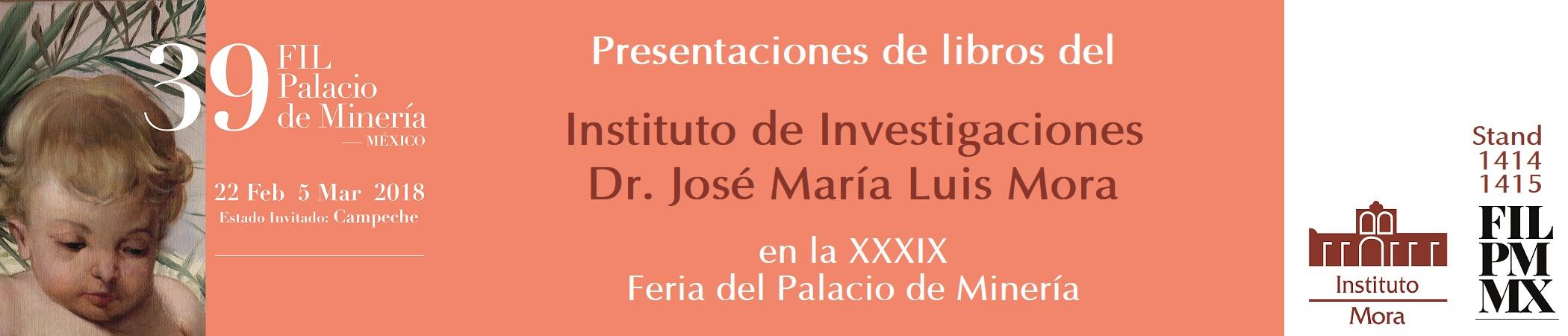 Presentaciones de libros en la XXXIX FIL del Palacio de Minería