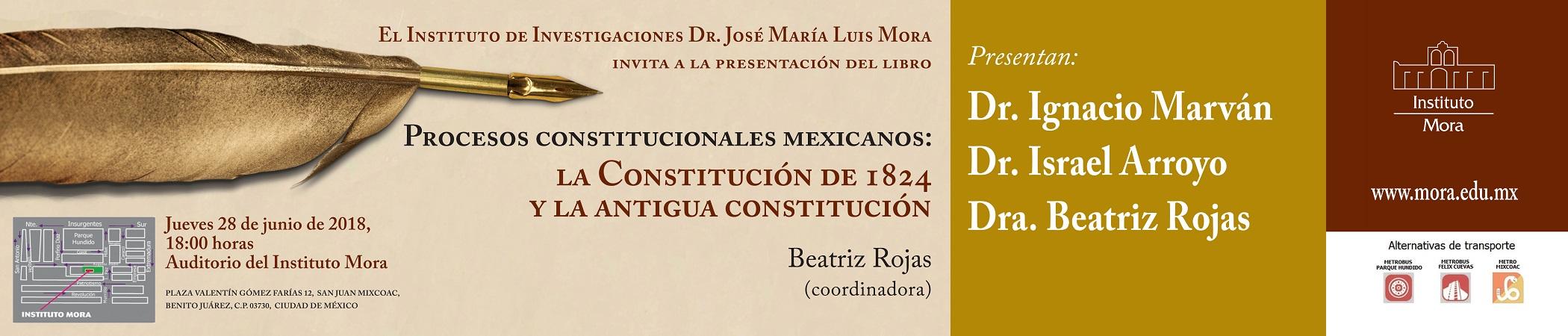 Presentación del libro Procesos constitucionales mexicanos
