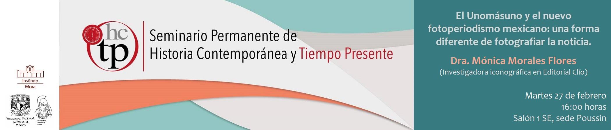 Seminario Permanente de Historia Contemporánea y del Tiempo Presente