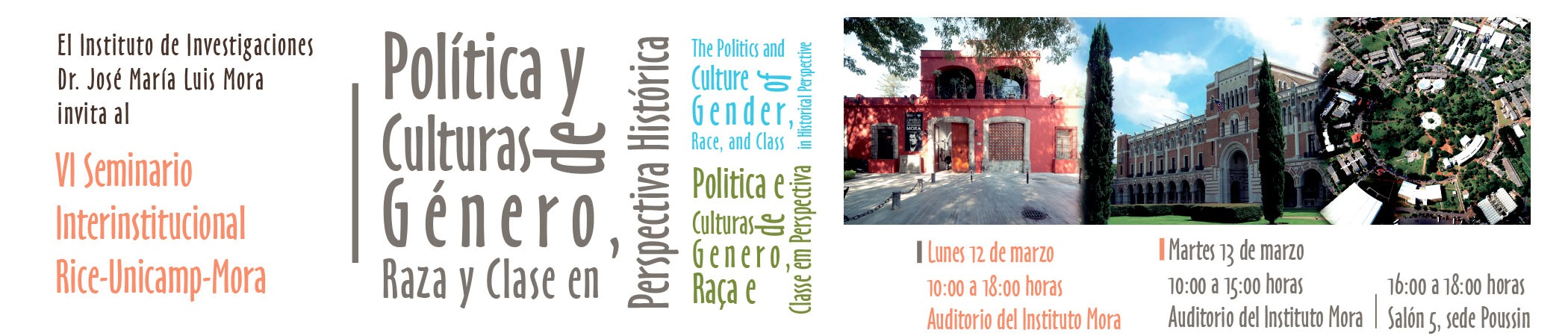 VI Seminario Interinstitucional Rice-Unicamp-Mora