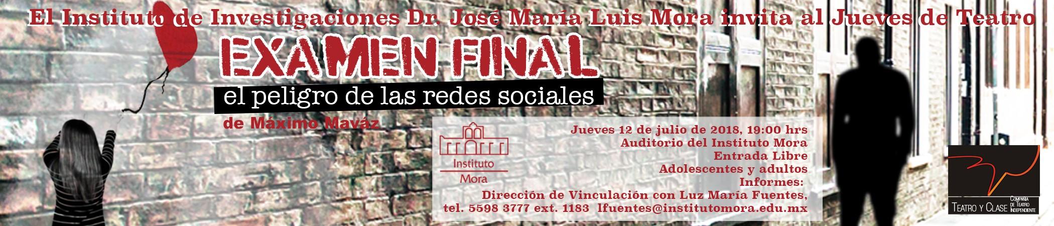 Jueves de Teatro en el Instituto Mora