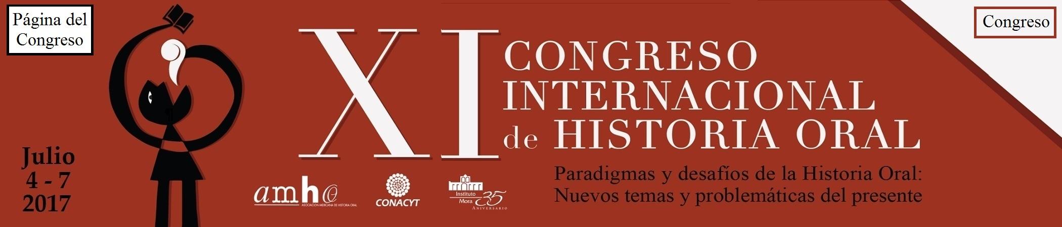 XI Congreso Internacional de Historia Oral