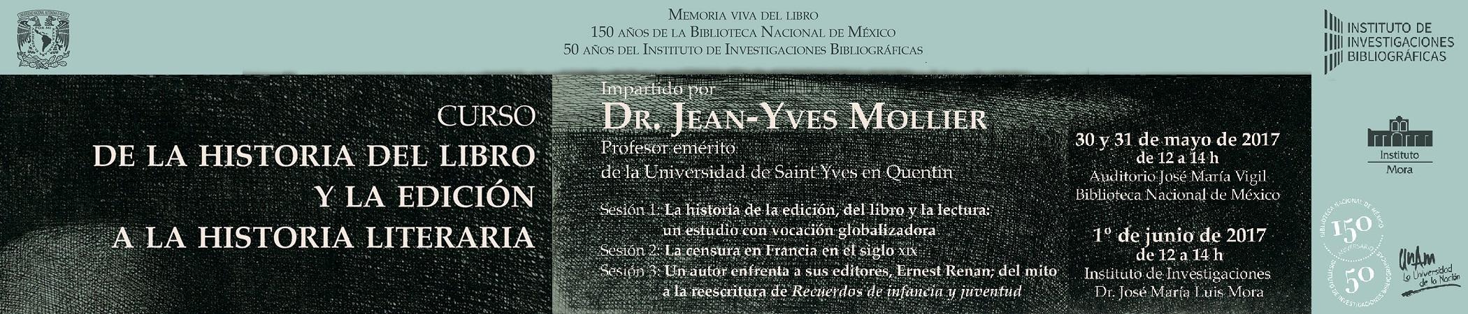 Curso de la Historia del libro y la edición a la historia literaria