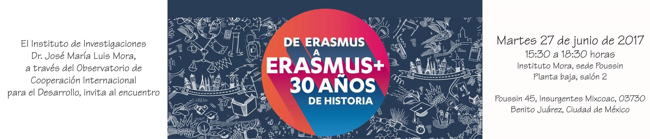 Encuentro Cooperación educativa: 30 años del Programa Erasmus Mundus