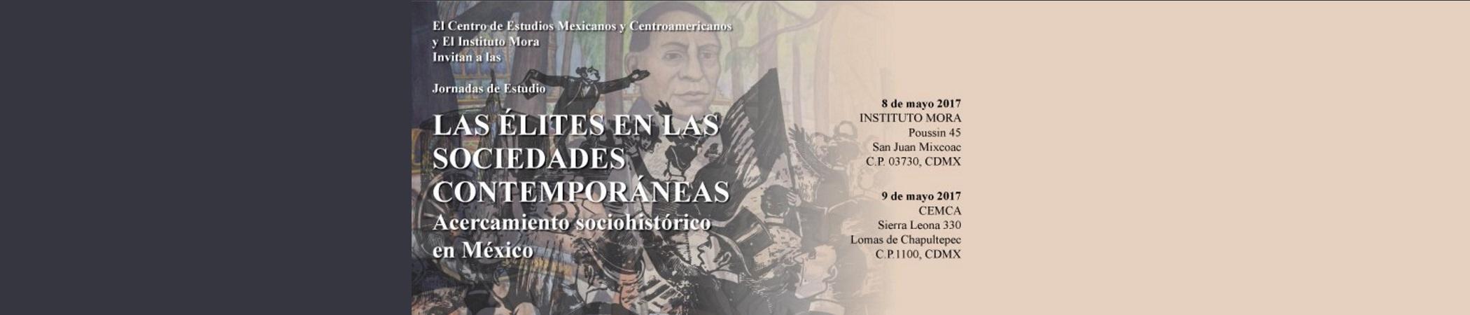 Jornadas de Estudio Las élites en las sociedades contemporáneas