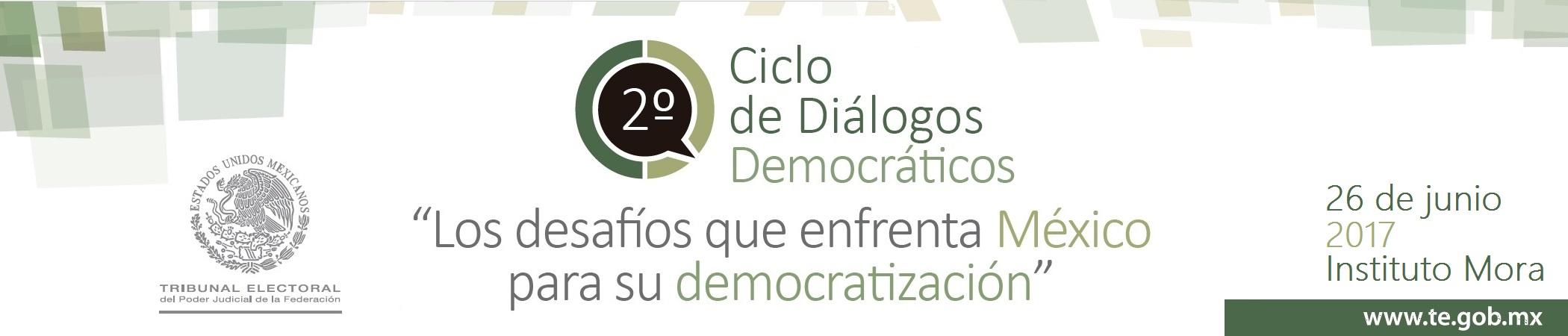 2° Ciclo de Diálogos Democráticos