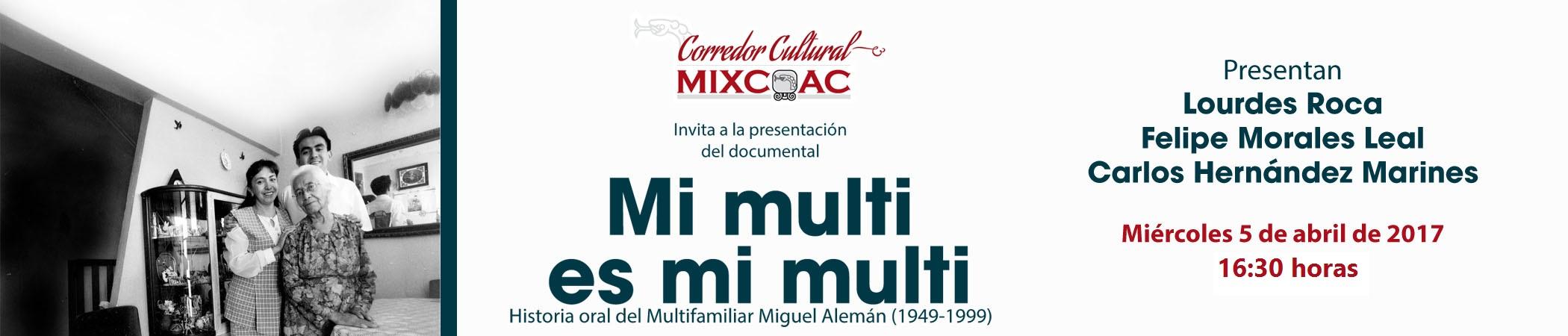 Presentación del documental Mi multi es mi multi