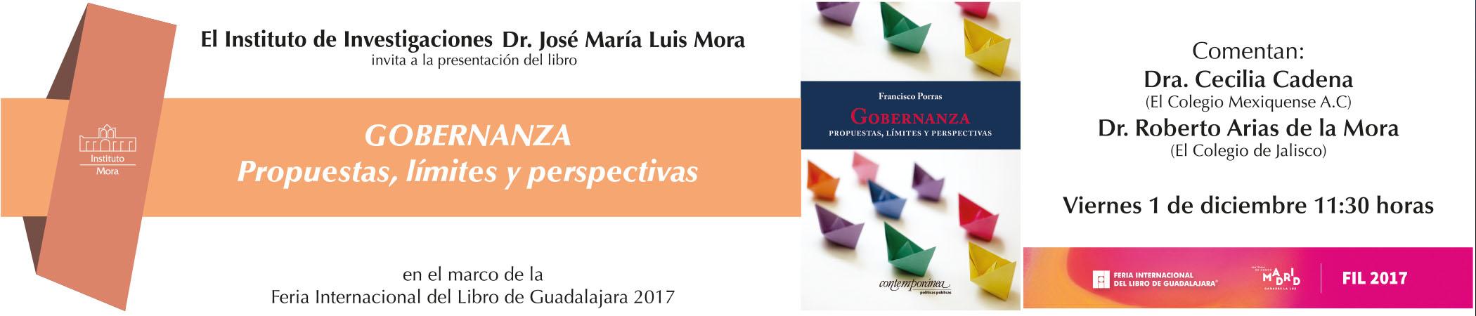 Presentación del libro Gobernanza: propuestas, límites y perspectivas