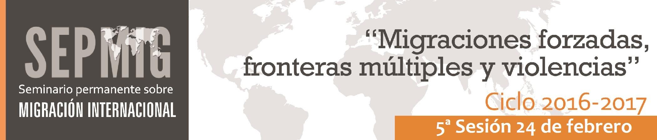 Seminario permanente sobre migración internacional