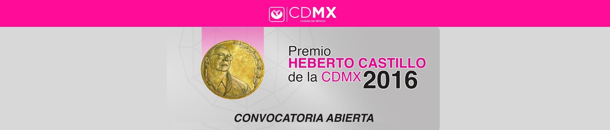 Premio Heberto Castillo