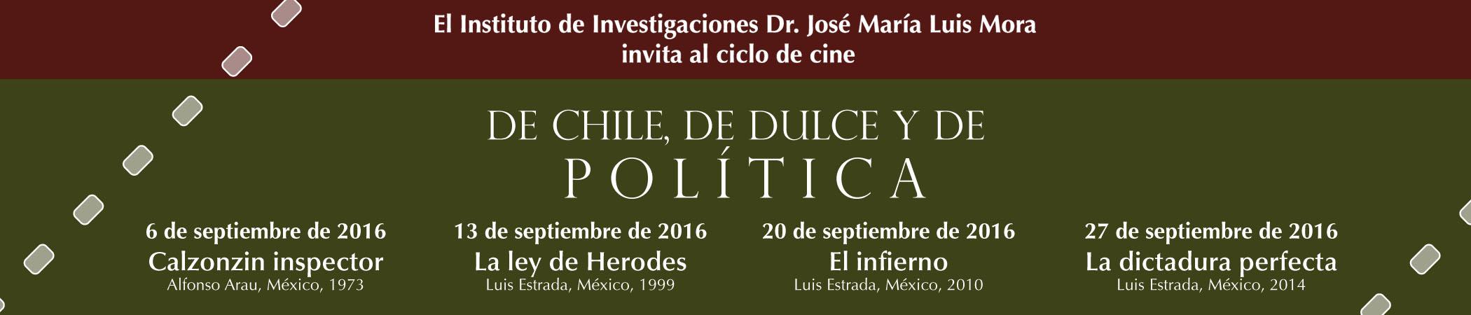 Martes de Cine Club De chile, de dulce y de política