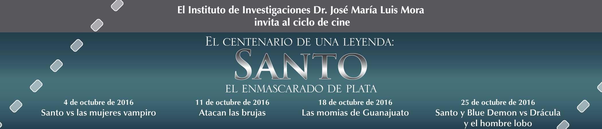 Martes de Cine Club El centenario de una leyenda: Santo, el enmascarado de plata
