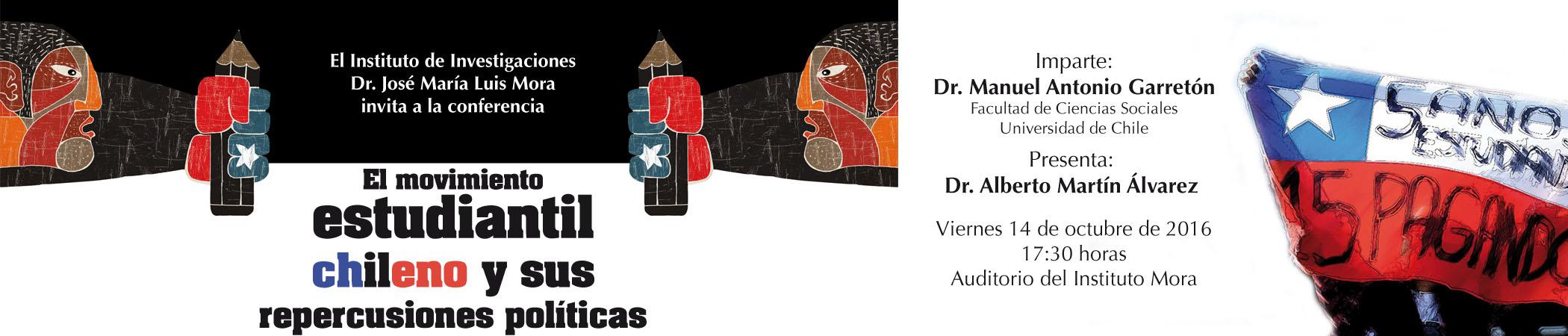 Conferencia El movimiento estudiantil chileno y sus repercusiones políticas