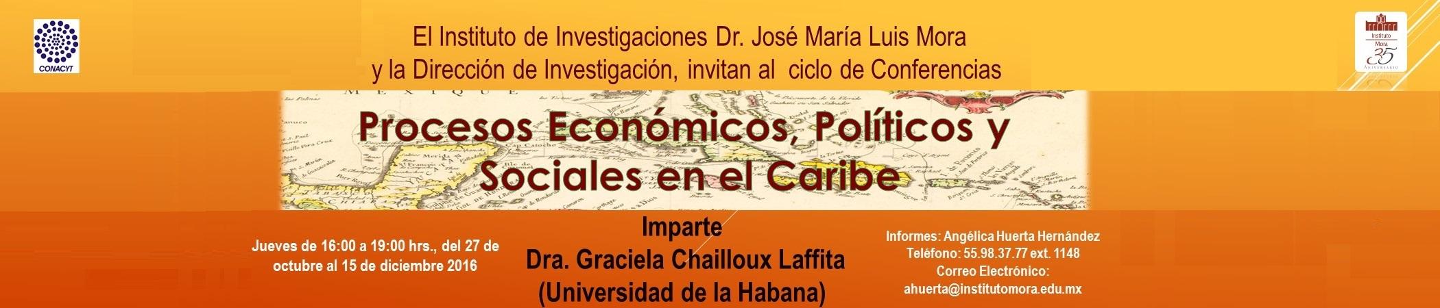 Ciclo de conferencias Procesos Económicos, Políticos y Sociales en el Caribe