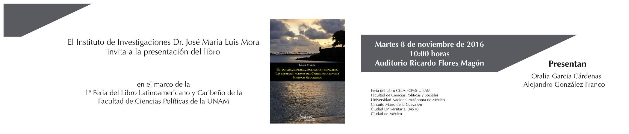Presentación del libro Fotografía imperial, escenarios tropicales