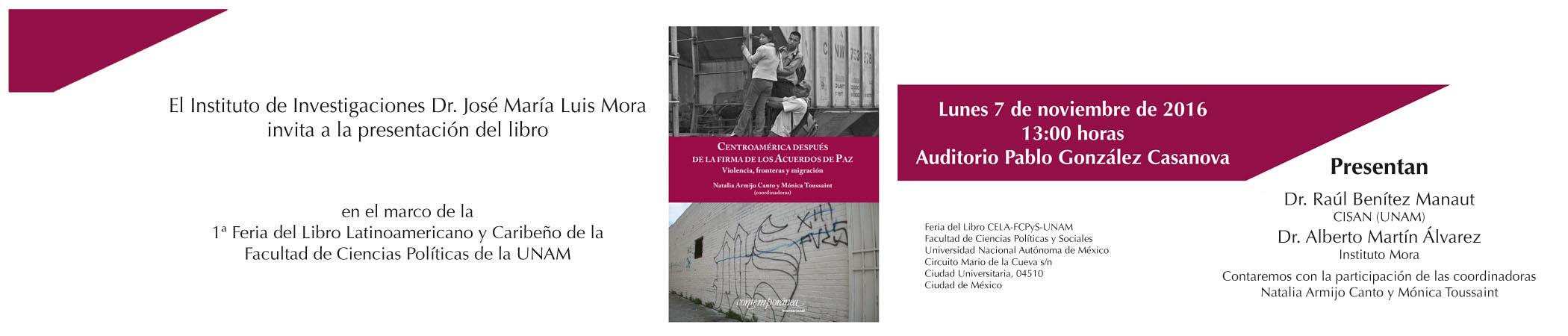 Presentación del libro Centroamérica después de la firma de los Acuerdos de Paz