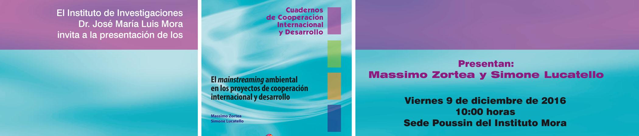 Presentación del libro El mainstreaming ambiental en los proyectos de cooperación internacional y desarrollo
