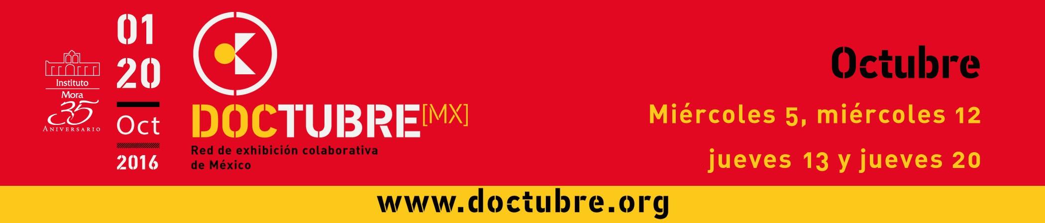 DoctubreMX Red de exhibición colaborativa de México