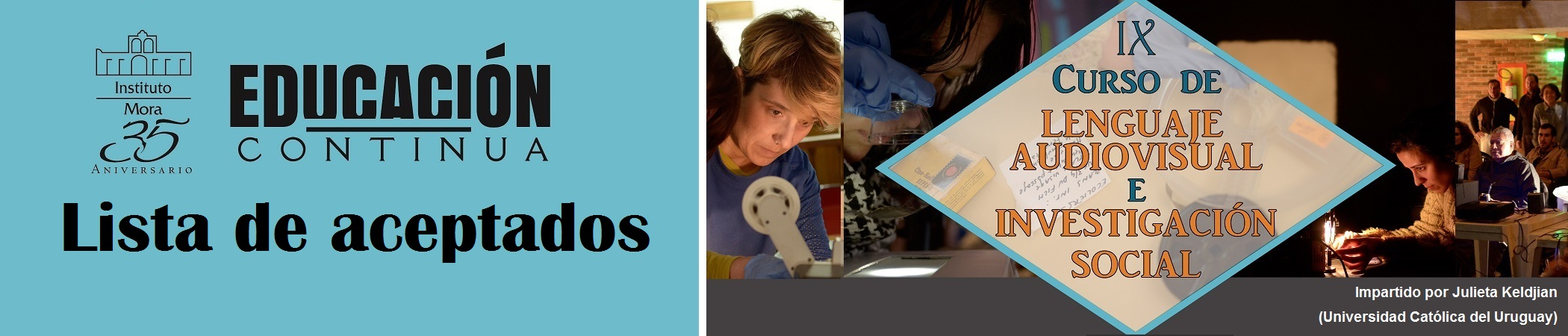 IX Curso de Lenguaje Audiovisual e Investigación Soci