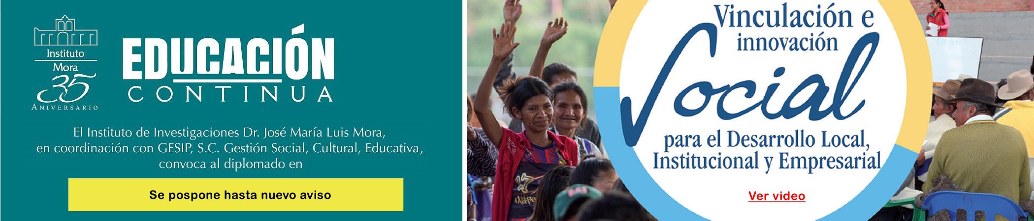 Vinculación e innovación Social para el Desarrollo Local, Institutcional y Empresarial