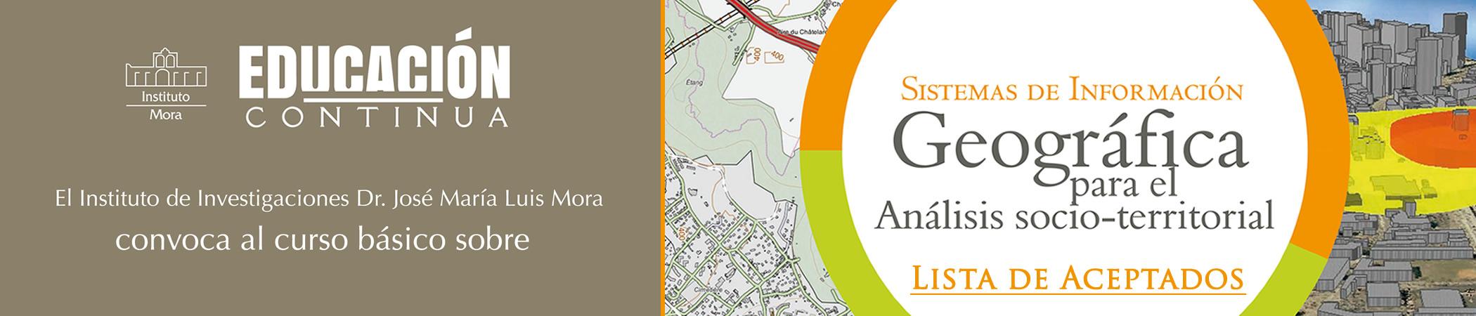 Sistemas de información geográfica para el Análisis socio-territorial